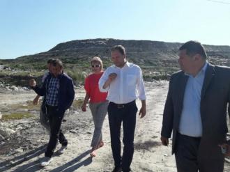 Ион Чебан встретился с жителями Бубуеч для поиска решения с вывозом мусора