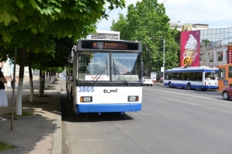 Автономные троллейбусы до аэропорта Кишинева сдадут в эксплуатацию уже в июне