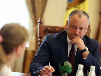 Игорь Додон принял меры для рассмотрения всех петиций и обращений, поступающих в президентуру