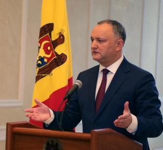 Додон: Не допущу превращения Молдовы в пушечное мясо НАТО