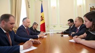 Глава государства встретился с Послом Республики Турция