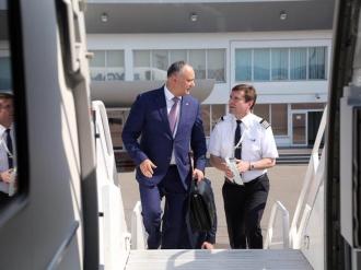 Президент отправился с официальным визитом в Азербайджанской Республике