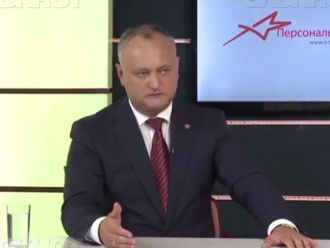Впервые сроки возвращения Приднестровья в состав Молдовы обнародовал Игорь Додон
