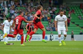 Zaria Bălți a câștigat primul meci cu Sarajevo din Liga Europei