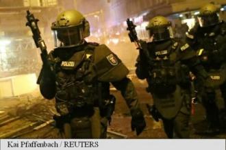 Почти 200 полицейских пострадали в ходе беспорядков в Гамбурге