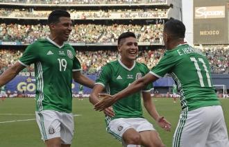 Сборная Мексики победила команду Сальвадора в матче Золотого кубка КОНКАКАФ