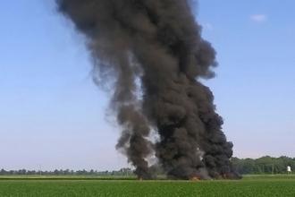 При падении военного самолета в США погибли 16 человек