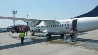 Самолет рейса Бухарест - Кишинев вернули в аэропорт через 20 минут полета