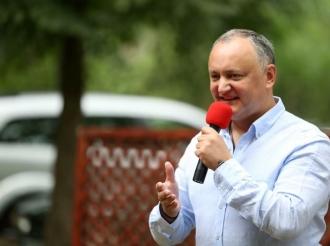 В открытие ежегодного летнего форума «Территория Молодежи» принял участие Игорь Додон