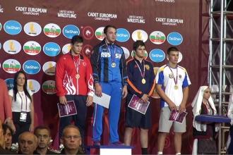 Молдавские борцы завоевали четыре медали на Чемпионате Европы среди кадетов