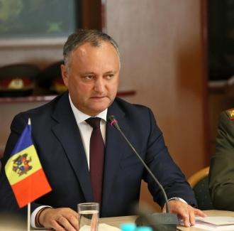 Șeful statului a îndemnat angajații SIS să nu cedeze în fața presiunilor politice  și să acționeze doar în interesul cetățenilor RM