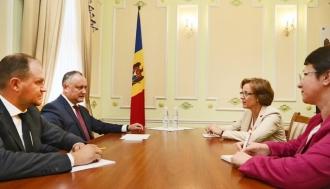 Президент выступил за активизацию сотрудничества между Молдовой и Германией