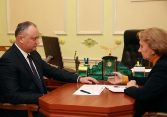 Игорь Додон и Зинаида Гречаный обсудили проект Закона о государственном бюджете