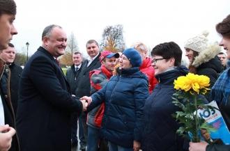 Додон: У меня только один куратор – молдавский народ (ВИДЕО)
