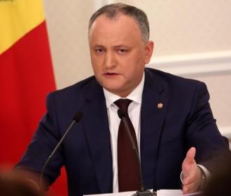 Додон – западным партнерам: Вы взрастили нынешнюю власть Молдовы, которой теперь недовольны