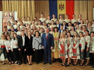 В кишиневском Теоретическом лицее им. Н.В. Гоголя состоялось праздничное мероприятие по случаю Года Святого Штефана Великого