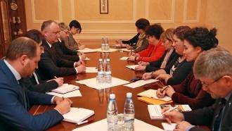 Додон: Сокращение численности населения – одна из наиболее острых проблем Молдовы