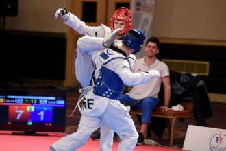 Три медали на Чемпионате Европы по тхэквондо