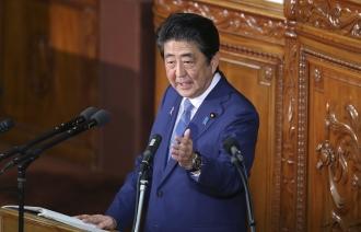 Абэ заявил, что США не могут размещать военные базы на территории Японии без ее согласия