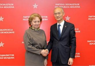 Зинаида Гречаный встретилась с послом Китая