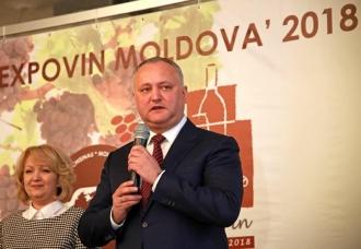 Глава государства принял участие в Международной специализированной выставке вин «Expovin Moldova-2018»