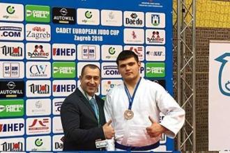 Алин Багрин завоевал бронзу на Кубке Европы в Загребе