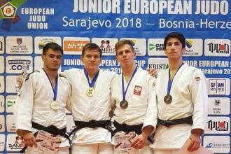 """Молдавские дзюдоисты завоевали три медали на """"Junior European Cup"""""""