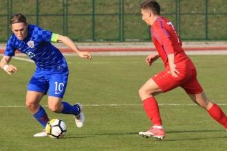 Молодежная сборная проиграла матч с командой Хорватии