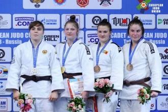 Оксана Дьяченко завоевала бронзу на Кубке Европы по дзюдо среди кадетов