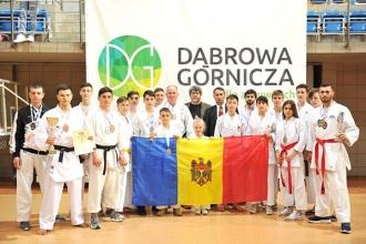 Молдова завоевала 14 медалей на Чемпионате Европы по каратэ шотокан
