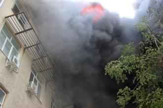 Итог пожаров в Кишиневе: люди не пострадали, выгорело около 1500 квадратных метров площади