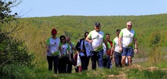 Президент вместе с семьей принял участие в беговом марафоне на дистанцию в 15 км