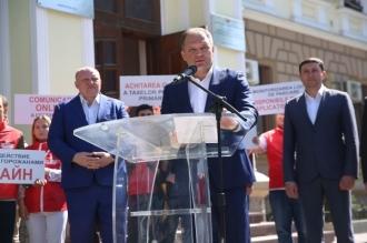 """Чебан рассказал о проектах ПСРМ по превращению Кишинева в """"умный"""" город"""