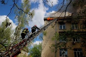 Озвучены первые версии причин пожара в Институте микробиологии и торговом центре в Кишиневе