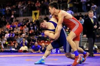 Борец Даниел Катарага занял пятое место на чемпионате Европы