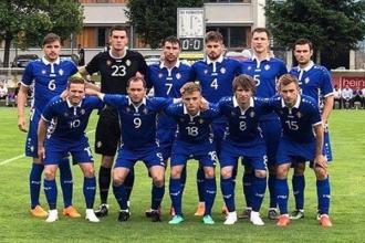 Национальная сборная Молдовы сыграла вничью со сборной Армении