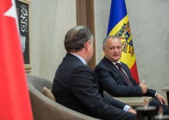 Додон подтвердил приглашение Эрдогану посетить с визитом Молдову (ФОТО)