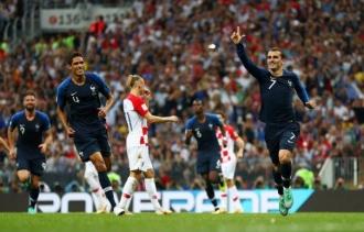 Сборная Франции второй раз в истории стала чемпионом мира по футболу
