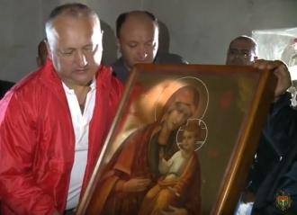 Отныне на вершине Святой Горы Афон есть икона из Молдовы