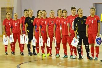Женская сборная по футзалу проиграла Армении