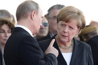 Меркель впервые поддержала Россию в Сирии