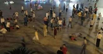 Число погибших при наезде внедорожника на толпу в Китае выросло до 11