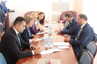 Зинаида Гречаный провела важную встречу на полях второго Евразийского женского форума