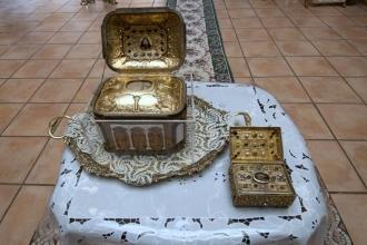 Православные верующие смогут поклониться привезенным с Афона мощам Святого Пантелеймона