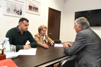 Зинаида Гречаный встретилась с послом Венгрии в Молдове