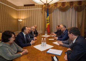 Додон выступил за развитие сотрудничества Торгово-промышленных палат стран СНГ