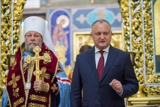 Президент выступил с инициативой проведения Всеправославного Собора на территории Молдовы