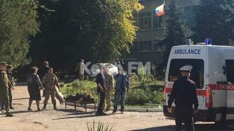В Керчи десять человек погибли при взрыве в техникуме