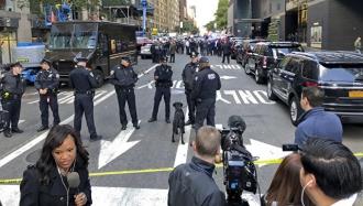 Жителям ближайших к Time Warner домов приказали не покидать здания