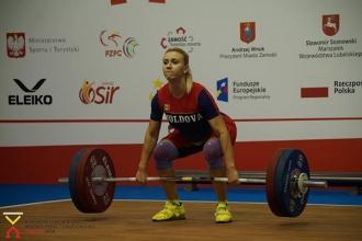 Екатерина Третьякова заняла 3-е место в рывке на чемпионате Европы U-23